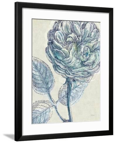 Belle Fleur III Crop-Sue Schlabach-Framed Art Print
