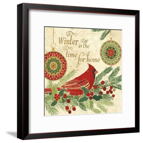Winter Feathers V-Veronique Charron-Framed Art Print