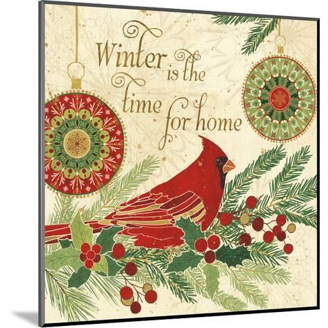 Winter Feathers V-Veronique Charron-Mounted Art Print