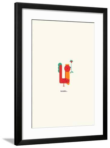 Kurukku--Framed Art Print