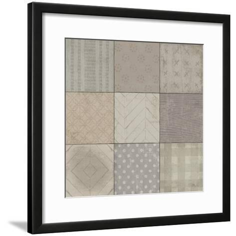 Country Collage II--Framed Art Print