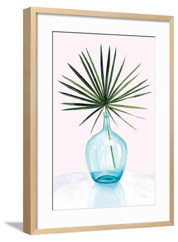 Statement Palms I--Framed Art Print
