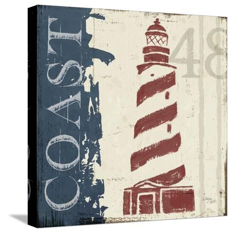Nautical V--Stretched Canvas Print
