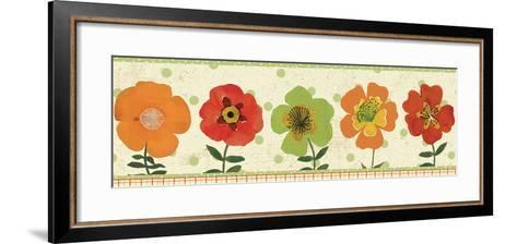 Garden Brights Spice III--Framed Art Print