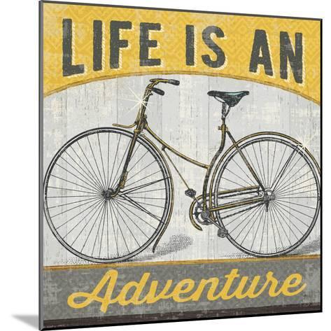 Life is an Adventure--Mounted Art Print