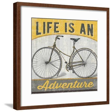 Life is an Adventure--Framed Art Print