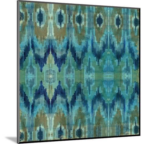 Mirage Pattern I Blue--Mounted Art Print