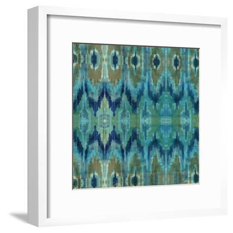 Mirage Pattern I Blue--Framed Art Print