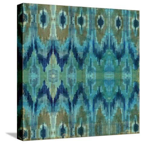 Mirage Pattern I Blue--Stretched Canvas Print