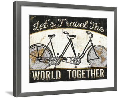 Worldride III--Framed Art Print