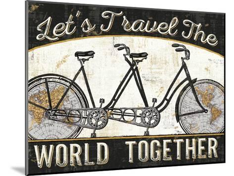 Worldride III--Mounted Art Print