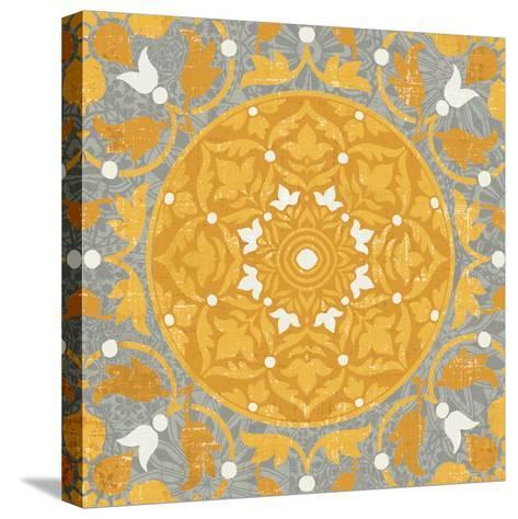 Inspired India Yellow III--Stretched Canvas Print