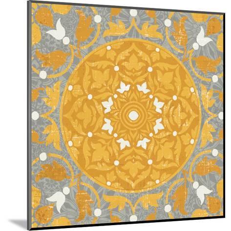 Inspired India Yellow III--Mounted Art Print