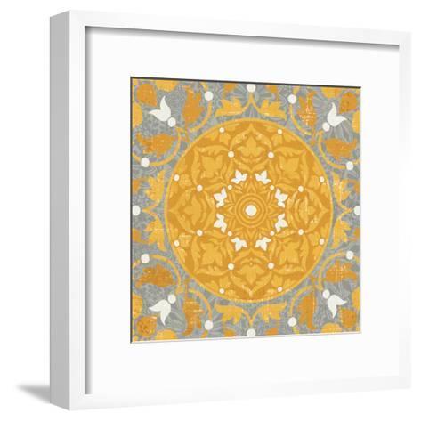 Inspired India Yellow III--Framed Art Print