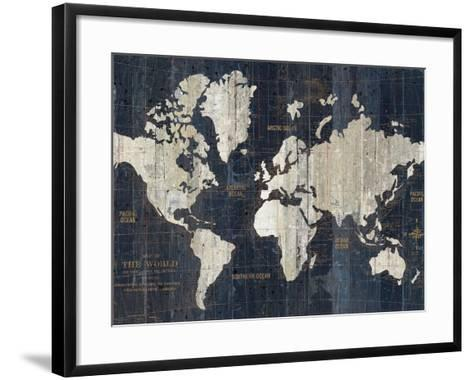 Old world map blue crop art print by wild apple portfolio art old world map blue crop wild apple portfolio framed art print gumiabroncs Image collections