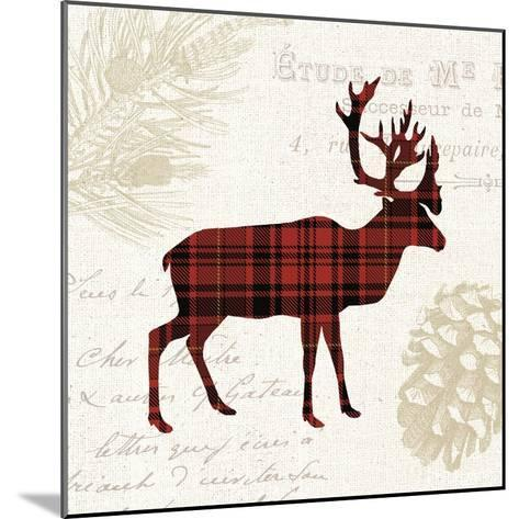 Plaid Lodge I-Wild Apple Portfolio-Mounted Art Print