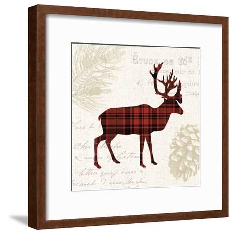 Plaid Lodge I-Wild Apple Portfolio-Framed Art Print