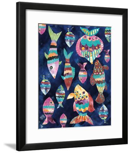 Boho Reef VIII-Wild Apple Portfolio-Framed Art Print