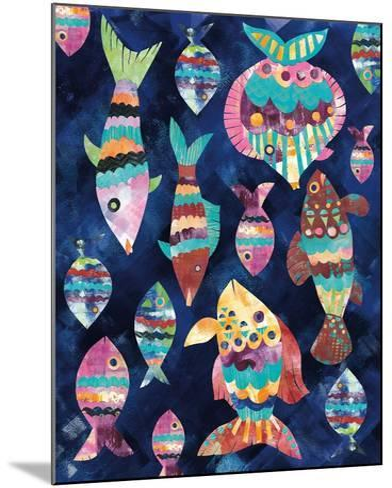 Boho Reef VIII-Wild Apple Portfolio-Mounted Art Print