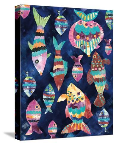 Boho Reef VIII-Wild Apple Portfolio-Stretched Canvas Print