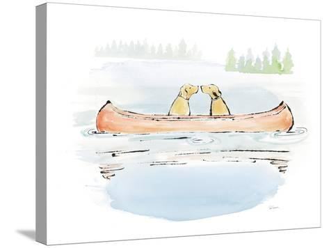Lakeside Days IV-Sue Schlabach-Stretched Canvas Print