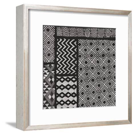 Kuba Abstract I BW-Sue Schlabach-Framed Art Print