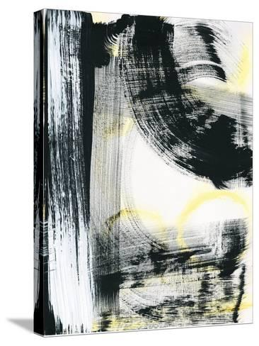 LPs in 33 III Light Yellow-Sue Schlabach-Stretched Canvas Print