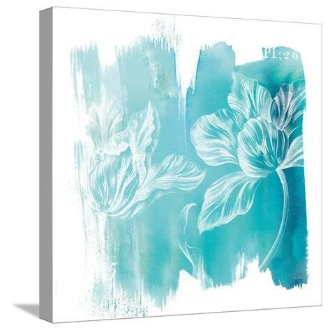 Water Wash II-Sue Schlabach-Stretched Canvas Print