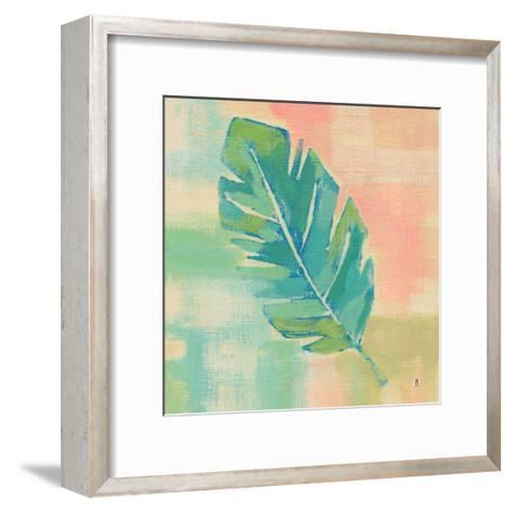 Beach Cove Leaves III-Studio Mousseau-Framed Art Print