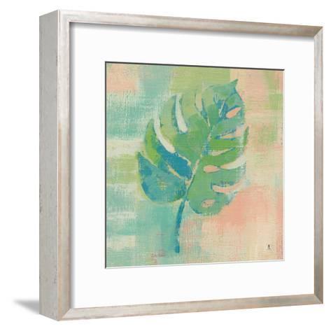 Beach Cove Leaves I-Studio Mousseau-Framed Art Print