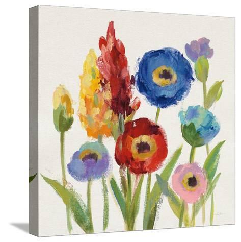 Wild Garden I-Silvia Vassileva-Stretched Canvas Print