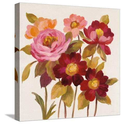 English Garden IV-Silvia Vassileva-Stretched Canvas Print