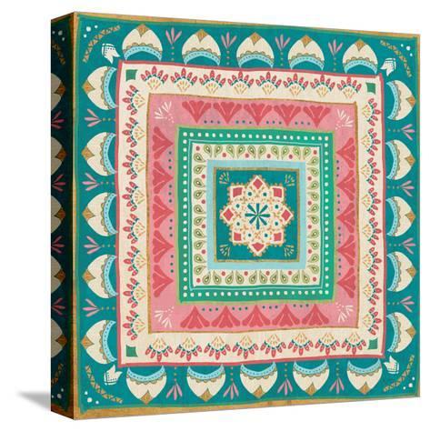 Gypsy Wings Bright VIII-Veronique Charron-Stretched Canvas Print