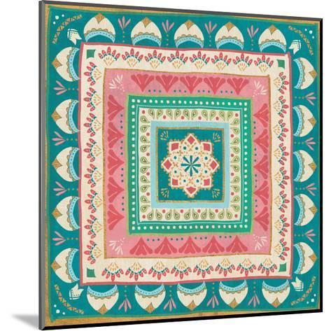 Gypsy Wings Bright VIII-Veronique Charron-Mounted Art Print