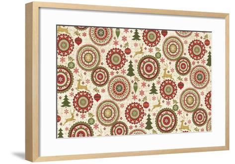 Simply Christmas IV-Veronique Charron-Framed Art Print
