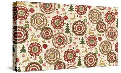 Simply Christmas IV-Veronique Charron-Stretched Canvas Print