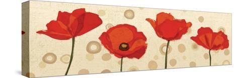 Poppies Dance III-Veronique Charron-Stretched Canvas Print