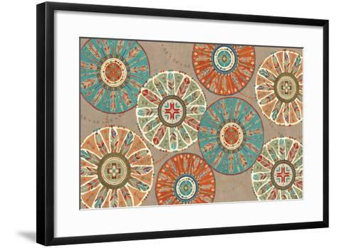 Southwest at Heart XII Square-Veronique Charron-Framed Art Print