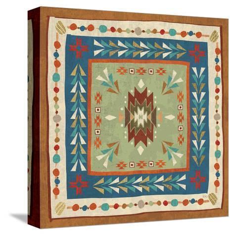 Southwest at Heart Tile VIII-Veronique Charron-Stretched Canvas Print