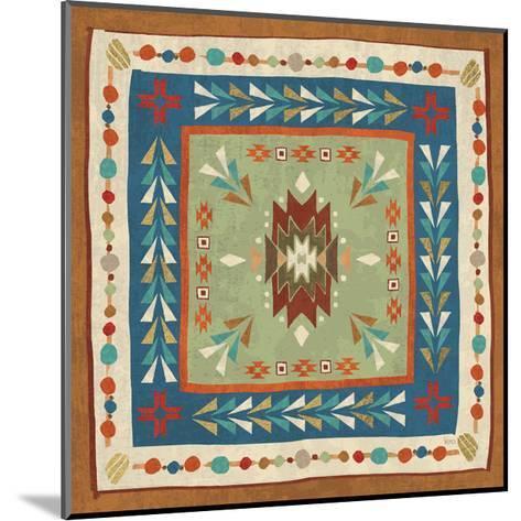 Southwest at Heart Tile VIII-Veronique Charron-Mounted Art Print