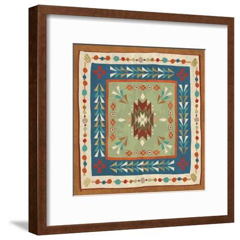 Southwest at Heart Tile VIII-Veronique Charron-Framed Art Print