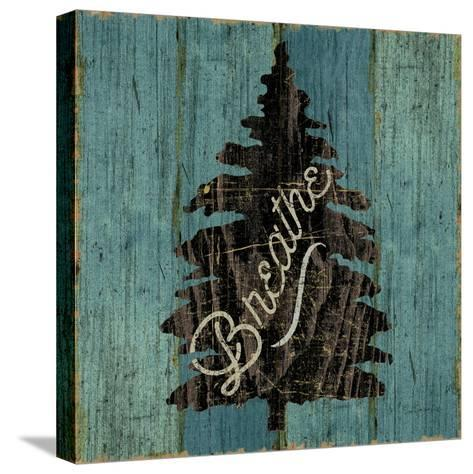 Lake Lodge X-Sue Schlabach-Stretched Canvas Print