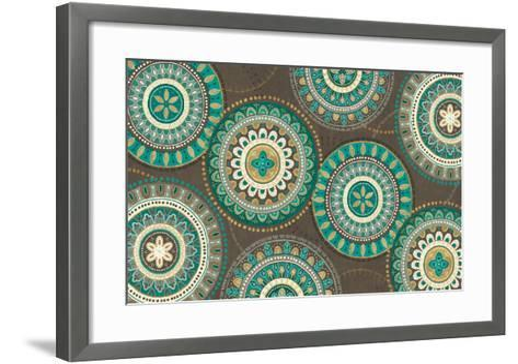 Cool Feathers VI Brown-Veronique Charron-Framed Art Print