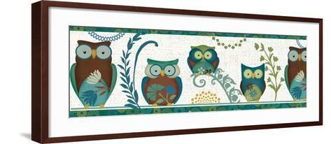 Owl Blues III-Veronique Charron-Framed Art Print