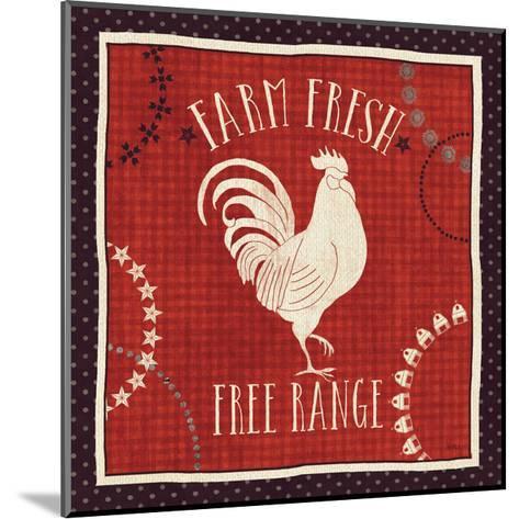 Little Red Farm I-Veronique Charron-Mounted Art Print