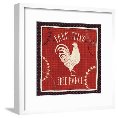 Little Red Farm I-Veronique Charron-Framed Art Print