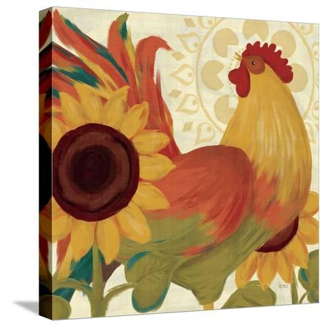 Spice Roosters II-Veronique Charron-Stretched Canvas Print