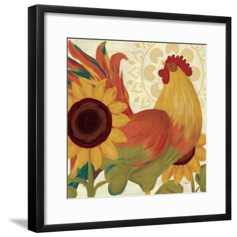 Spice Roosters II-Veronique Charron-Framed Art Print