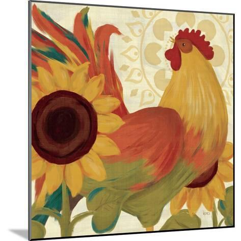 Spice Roosters II-Veronique Charron-Mounted Art Print