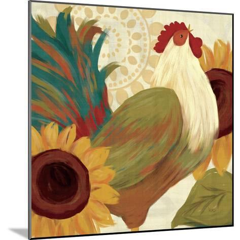 Spice Roosters I-Veronique Charron-Mounted Art Print